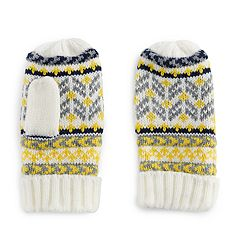 Girls 4-6x Igloos Fairisle Mittens