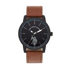 U.S. Polo Assn. Men's Leather Watch - USC50499KL
