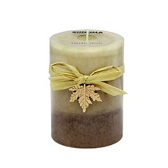 SONOMA Goods for Life™ Caramel Toffee 4' x 3' Pillar Candle