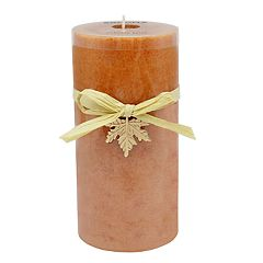 SONOMA Goods for Life™ Pumpkin Spice 6' x 3' Pillar Candle