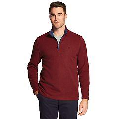 Men's IZOD Classic-Fit Sweater Fleece Quarter-Zip Pullover