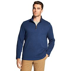Men's IZOD Classic-Fit Fleece Quarter-Zip Pullover