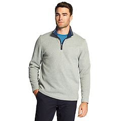 Men's IZOD Classic-Fit Sweater Fleece Quarter-Zip Pullover