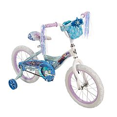 Disney's Frozen Kids 16-Inch Bike with Handlebar Bag by Huffy