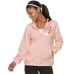 Women's Nike Sportswear Full-Zip Metallic Hoodie
