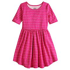 Girls 4-10 Jumping Beans® Arrow Print Skater Dress