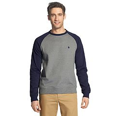 Men's IZOD Advantage SportFlex Performance Colorblock Stretch Fleece Raglan Sweatshirt