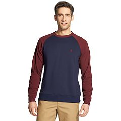 Men's IZOD Advantage SportFlex Performance Colorblock Stretch Fleece Raglan Tee