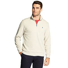 Men's IZOD Advantage SportFlex Performance Stretch Fleece Quarter-Zip Pullover