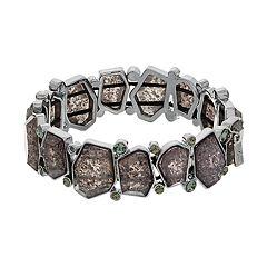 Simply Vera Vera Wang Geometric Stretch Bracelet