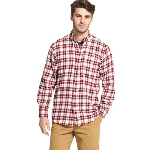 Men's IZOD Sportswear Plaid Flannel Button-Down Shirt