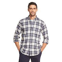Men's IZOD Classic-Fit Plaid Flannel Button-Down Shirt