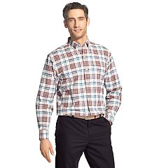 Men's IZOD Newport Oxford Classic-Fit Button-Down Shirt