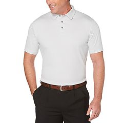 Men's Jack Nicklaus Regular-Fit StayDri Gradiant Heather Performance Golf Polo