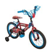 Kids Huffy Marvel Spider-Man 16-Inch Bike with WebTrap Handlebar Plaque