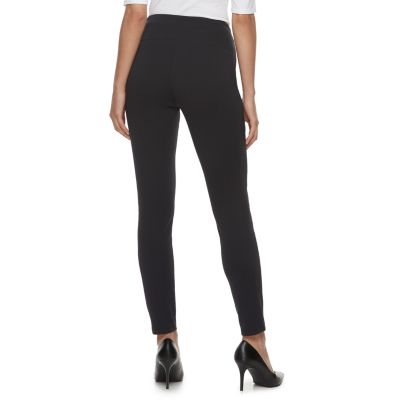 Women's Apt. 9® Tummy-Control High-Waisted Ponte Leggings