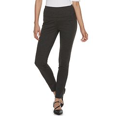 Women's Apt. 9® Tummy-Control High-Waisted Ponte Leggings
