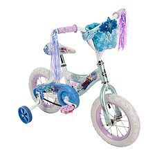 Disney's Frozen Kids 12-Inch Bike with Handlebar Bag by Huffy