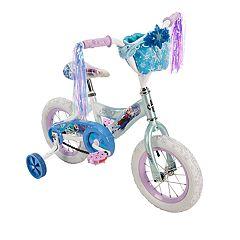 Disney's Frozen Kids 12-Inch Bike with Handlebar Bag by Huffy