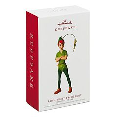 Disney Peter Pan Faith, Trust & Pixie Dust 2018 Hallmark Keepsake Christmas Ornament