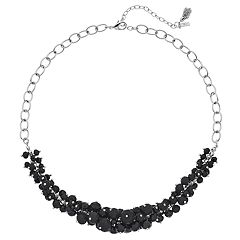 Simply Vera Vera Wang Graduated Bead Cluster Necklace