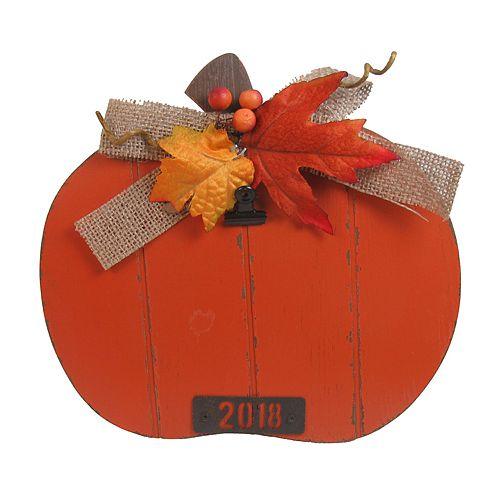 """Celebrate Fall Together Pumpkin 4"""" x 6"""" Photo Clip Frame"""