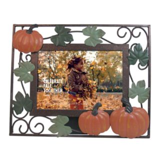 "Celebrate Fall Together Pumpkin 4"" x 6"" Frame"