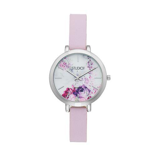 Studio Time Women's Floral Watch