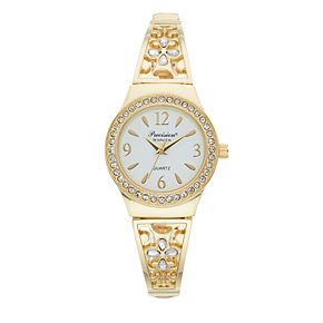 Precision by Gruen Women's Filigree & Crystal Accent Expansion Watch