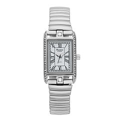 Precision by Gruen Women's Crystal Accent Expansion Watch