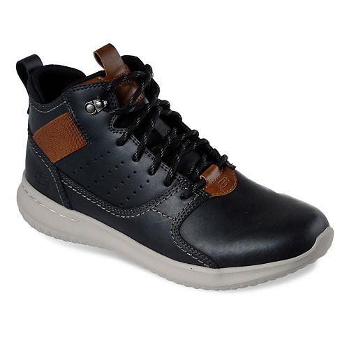 Skechers Delson Venego Men's ... High Top Sneakers zxO8Mc7Z
