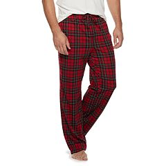 Big & Tall Croft & Barrow® Printed Knit Lounge Pants
