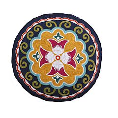 Levtex Elia Round Throw Pillow