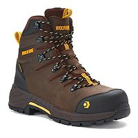 Wolverine Contractor LX Safety Toe Men's Waterproof Composite Toe Work Boots
