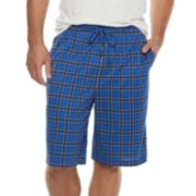 Big & Tall Croft & Barrow® Printed Knit Sleep Shorts