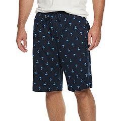Big & Tall Croft & Barrow® Printed Knit Sleep Shorts