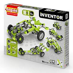 Engino 16-In-1 Model Cars Building Set