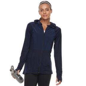 Women's Tek Gear® Jersey Thumb Hole Jacket