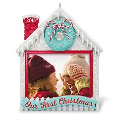 Our First Christmas Photo Holder 2018 Hallmark Keepsake Christmas Ornament