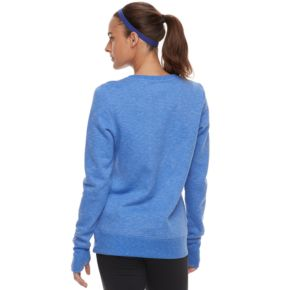 Women's Tek Gear® Crewneck Thumb Hole Sweatshirt