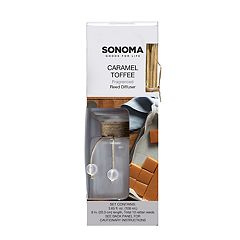 SONOMA Goods for Life™ Caramel Toffee Reed Diffuser 12-piece Set