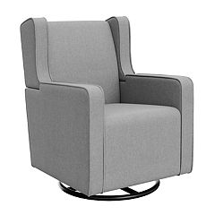 Graco Remi Upholstered Swivel Glider
