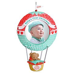Baby's First Christmas Love's Journey Begins Photo Holder 2018 Hallmark Keepsake Christmas Ornament