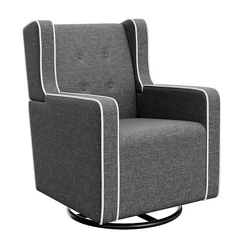 Graco Remi Tufted Upholstered Swivel Glider