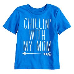 Toddler Boy Jumping Beans® 'Chillin' With My Mom' Arrow Graphic Tee
