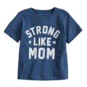 "Toddler Boy Jumping Beans® ""Strong Like Mom"" Graphic Tee"