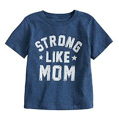 Toddler Boy Jumping Beans® 'Strong Like Mom' Graphic Tee