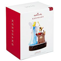 Disney Pinocchio A Real Boy With Light & Sound 2018 Hallmark Keepsake Christmas Ornament