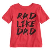 "Toddler Boy Jumping Beans® ""Rad Like Dad"" Graphic Tee"