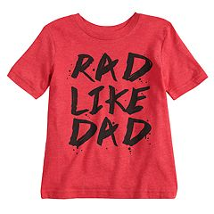 Toddler Boy Jumping Beans® 'Rad Like Dad' Graphic Tee